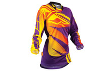 Fly Racing Kinetic Lady Jersey purple/gelb
